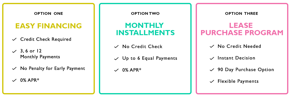 TwoBirch Flexible Payment Options