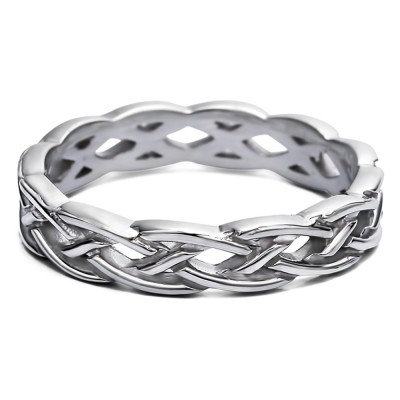 Celtic Infinity Braided Men's Ring