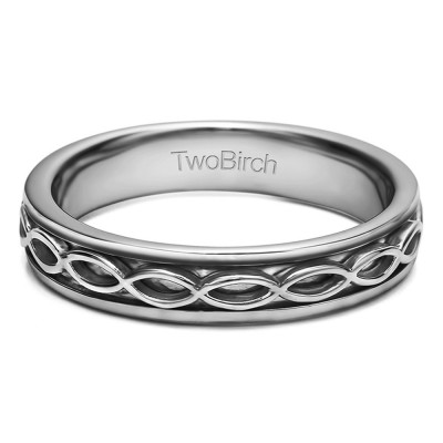 Celtic Infinity Men's Wedding Band