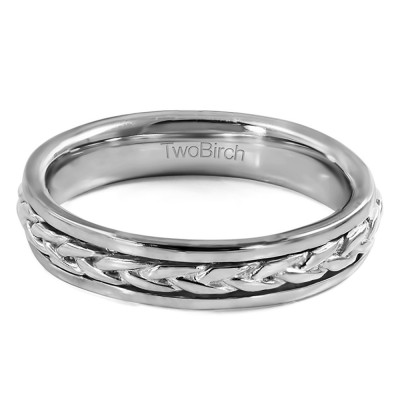 Celtic Braided Infinity Men's Wedding Ring