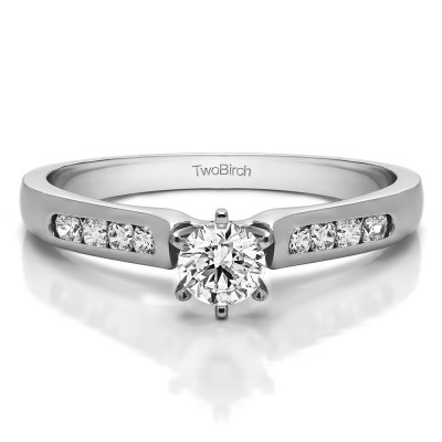 0.41 Carat Traditional Promise Ring