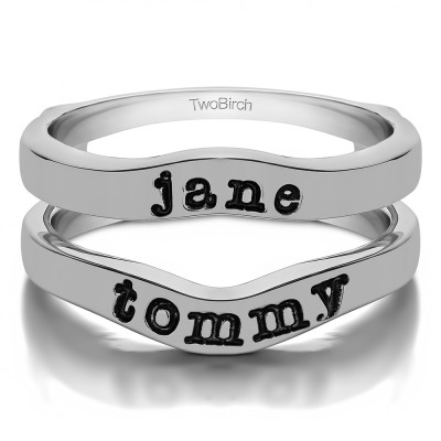 Personalized Name Ring Guard