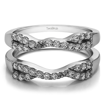 0.51 Ct. Infinity Cross Ring Guard