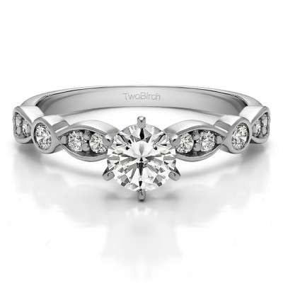 0.39 Carat Beautiful Promise Ring