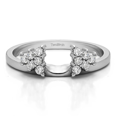 0.23 Ct. Triangular Cluster Ring Wrap Enhancer