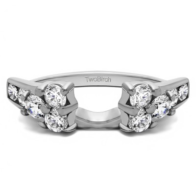 0.76 Ct. Cluster ring wrap