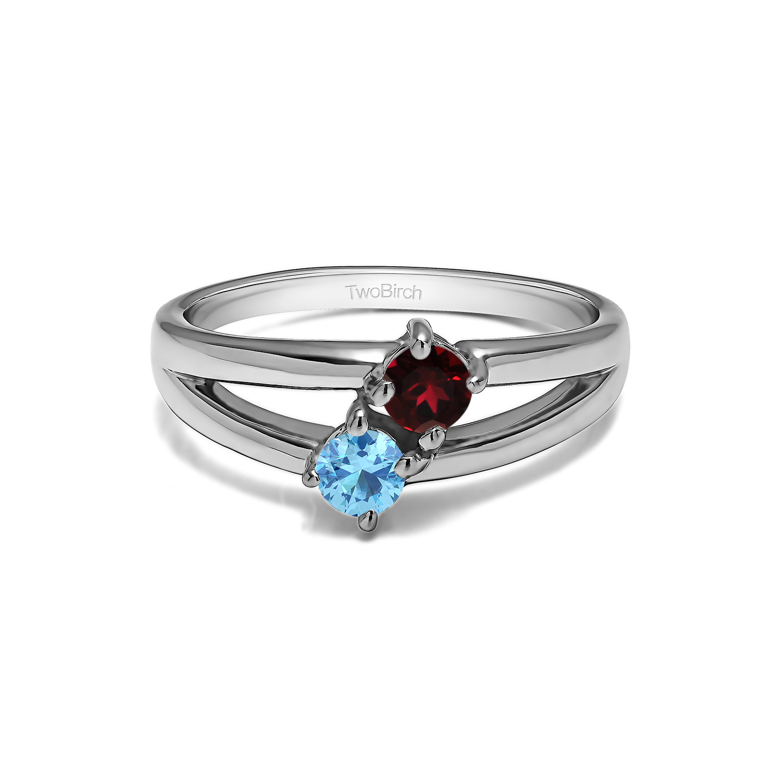 Birthstone Rings for Mom